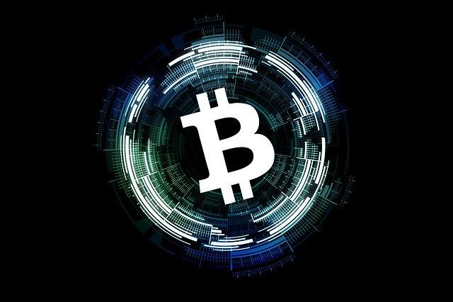 Anstieg von Krypto bei Bitcoin Code